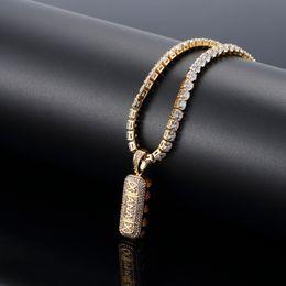 777c87c969bc Moda Hip Hop collar para hombre mujer largo chapado en oro 18K collares  cadena con diamante hombres joyería hombres oro plata colgantes cadenas