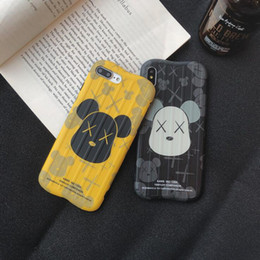 caso de telefone iphone8plus venda por atacado-Novo Apple maré Pro máximo de banda desenhada marca caixa do telefone móvel para iPhone8plus case xr designer de telefone xsmax anti queda