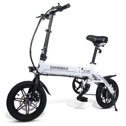 bicycle scooters Australia - Lixada 14 Inch Folding Electric Bike Power Assist Electric Bicycle E-Bike Scooter 250W Motor