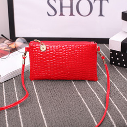 Red One Phone Australia - New coin purse tattoo hand holding one shoulder diagonal cross bag long stylish mobile phone bag