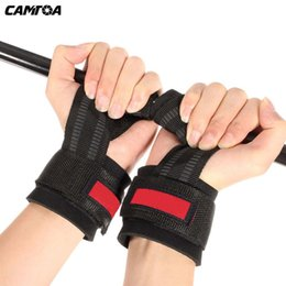 $enCountryForm.capitalKeyWord Australia - 1 Pair Fitness Weight Lifting Hand Bar Grips Straps Gloves Wrist Support Belt Gym Training Wraps For Body Building #309200