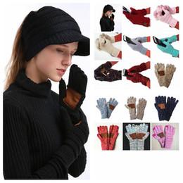 Опт CC сенсорный экран перчатки 15 цветов зимние трикотажные перчатки мода стрейч шерстяные вязать теплый полный палец варежки праздничные атрибуты 100 пар