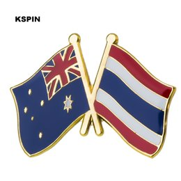 Australia Friendship Flag Metal Pin For Coat Jacket Brooch On The Collar Of The Shirt Jewellry Gift Superior Performance Apparel Sewing & Fabric Home & Garden