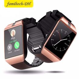 $enCountryForm.capitalKeyWord Australia - DZ09 Bluetooth Smart Watch Wirstband Android Intelligent Smartwatch SIM card for iphone 5 6 7 Samsung S8 S9 S10 with retail package