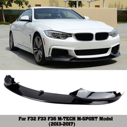 $enCountryForm.capitalKeyWord Australia - M-P Style PP material Bumper Front Lip For BMW 4 Series F32 F33 F36 425i 430i 440i 2 orders