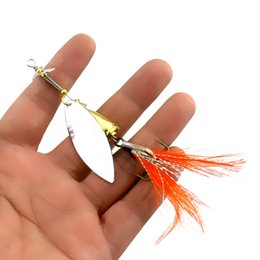 $enCountryForm.capitalKeyWord NZ - HENGJIA Spoon Fishing lure Metal Jig Bait Crankbait Casting Sinker Spoon With Feather Treble Bass sea lure Wobbler Pesca tackle