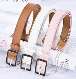 Italy leather belt online shopping - listing Tops Italy brand Trademark design Fashion solid Big buckle Genuine leather belt brand strap belts for Mens Womens Jeans waistband