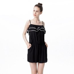 0f665b2cf558 Nice Jumpsuits UK - Nice Summer Women Clothes Sling BodySuit Strapless  Conjoined Twin Shorts Waist Thin