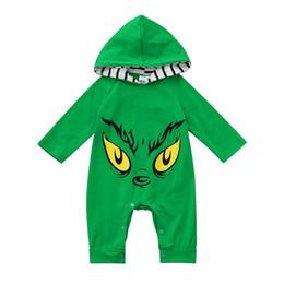 bd172b84c67 Baby Clothes Romper Infant Baby Girl Boy Long Sleeve Cartoon Eyes Printed Hoodie  Romper Jumpsuit Clothes baby costume N15 F