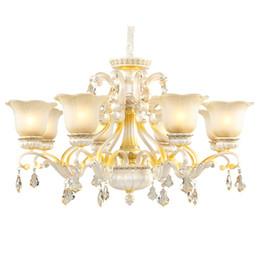 $enCountryForm.capitalKeyWord Australia - European new design chandelier lights luxury living room bedroom modern crystal chandeliers creative resin garden retro led pendant lamps