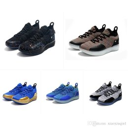 0ce66967d1df What the KD 11 low mens basketball shoes for sale MVP black Paranoid  flowers BHM Oreo Kevin Durant Xi kids boots with box