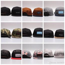 7648761fda4 Diamonds Supply Co. 5 panel camo 1998 LIFE DMND strapback flower Baseball  Caps hiphop Sports Snapback hats chapeu de sol swag Men women