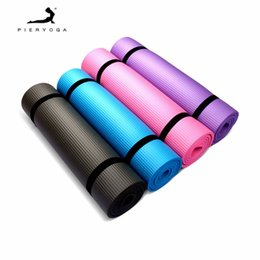 $enCountryForm.capitalKeyWord Australia - PIERYOGA Tasteless NBR Foldable Yoga Mat Exercise Pad Floor Play Mat + Strap + Net Bag For Gym Class Workout Gymnastics Supplies