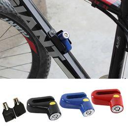 $enCountryForm.capitalKeyWord Australia - Disc Brake Lock For Bicycles Bikes Motorbikes Motorcycles Mountain Cycling Burglar-Proof Padlock Outdoor Accessories