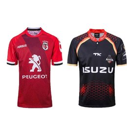 China Top quality 2018 Hot sales new 2019 Toulouse Rugby Jersey 18 19 Toulouse Rugby Jersey Sportswear King super rugby suit size S-3XL supplier jersey hot suppliers