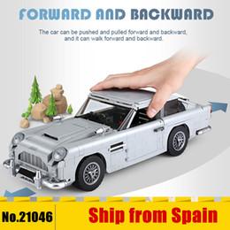 $enCountryForm.capitalKeyWord Australia - 21046 Technic James Bond Aston Martin Db5 Building Blocks Set Bricks 007 Cars Model Children Toys Compatible With The 10262MX190820