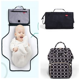 7696a67549d54 REAL Diaper Bag with Changing Mat Pad bag Set Mommy Large Capacity Nursing  Travel Backpacks Baby Nappy Bags 23 colors MPB01