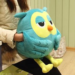 Valentine Pillows Gift Australia - Candice Guo Korean Drama The Inheritors The Heirs Funny Owl Hand Warm Cushion Pillow Plush Toy Stuffed Doll Valentine 'S Gift 1Pc