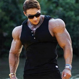 $enCountryForm.capitalKeyWord Australia - 2019 new Mens sleeveless Hoodies Fashion pullover leisure coat gyms Fitness bodybuilding Sweatshirt male sportswear clothing