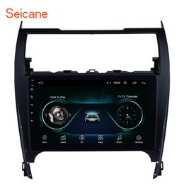 Phone Car Stereo Australia - 10.1 Inch Android 8.1 Car Stereo GPS Navigation for 2012-2017 TOYOTA CAMRY with Bluetooth Phone Music WIFI Support OBD2 DAB+ Mirror Link