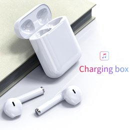 $enCountryForm.capitalKeyWord Australia - 2019 Hot sale Double ear Bluetooth Earphone Headset as SuperCopy AirPods works Touch, Voice Control,Light induction, hight quality 1pc...1