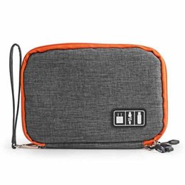 Iphone travel accessorIes online shopping - Waterproof Digital Gadget Phone Cable Organizer Accessories Travel Storage Bag Pouch For iPhone Tablet Cable High Quality