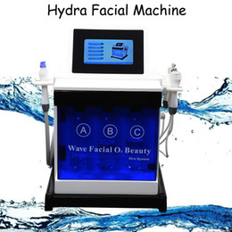 Home oxygen facial macHine online shopping - Hydra facial machine oxygen therapy home hydro peel dermabrasion Allergic skin improvement Microdermabrasion Facial Machine price