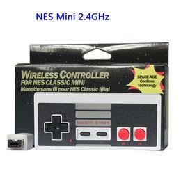 Wireless Gamepad Controller Australia - Wholesale 2.4G Wireless Game controller Mini Gamepad Joystick Game Console Joypad For Nintendo NES Mini Edition
