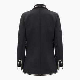 $enCountryForm.capitalKeyWord Australia - Womens small suit jacket fashion stitching diamond suit female color lapel split long-sleeved slim loose jacket female New discount