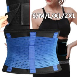fitness waist shaper Canada - Women Mens Sports Corset Body Waist Trimmer Belt Fitness Slimming Tummy Control Belt Body Shaper Shapewear Waist Support