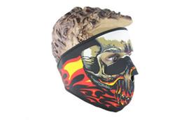 Full Face Ski Masks NZ - Multifunction Neoprene Full Skull Face Mask Halloween costume party face mask Motorbike Bike Ski Snowboard Sports Balaclava SN2237