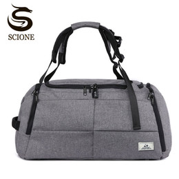 backpack specials NZ - Scione Special Multifunction Men Travel Bags Anti Theft Male Bag Travel Duffel Bags for Man Large Capacity Shoulder Handbag CJ191116