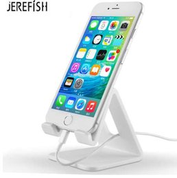 Table Stand For Tablets Australia - JEREFISH Tablet Holder Cell Phone Holder Stand Mount Support Table Holder Universal for