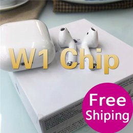 $enCountryForm.capitalKeyWord Australia - W1 Chip Pop UP Window Supercopy Air Pods Size Earphone Wireless Bluetooth 5.0 Stereo Charger Case Show Real Battery