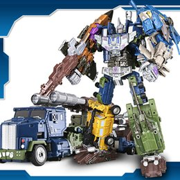 $enCountryForm.capitalKeyWord Australia - Transformed Toy Diamond Matrix Auto Robot Super Large Model Boys and Children's Toys