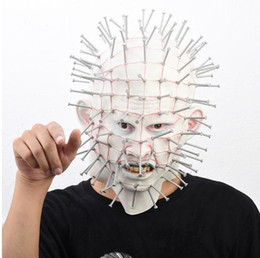 $enCountryForm.capitalKeyWord NZ - 2019 Famous Film The Hellraiser Mask Horror Zombie Mask Halloween Party Cosplay Costume Full Face Adult Ghost Head Masks