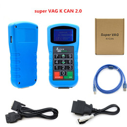 Audi Airbag Resetting Tool Australia - 2019 Super VAG K CAN plus 2.0 newest Diagnosis tool for Mileage Correction and Pin Code Reader and Key Programmer Airbag Reset