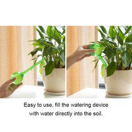 $enCountryForm.capitalKeyWord Australia - Self-watering system Imitation Glass Plant Waterer Flowers Automatic PVC Watering Device Ball Type Drip