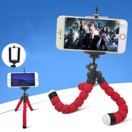 octopus tripod stand phone holder NZ - Flexible Octopus Tripod Phone Holder Universal Stand Bracket For Cell Phone Car Camera Selfie for iphone samsung