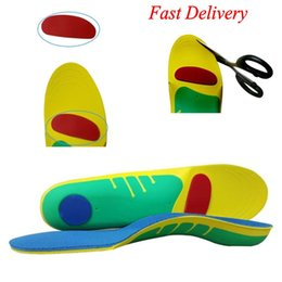 sponges for feet Australia - Sport Insoles Pads For Plantar Fasciitis Arch Orthotic Support Flat Feet Inserts Foot Care Fallen s Over Pronation Shoe Silicone S L