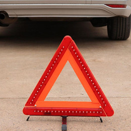 tripod electric Australia - Electric Flash LED Light Car Tripod Auto Reflective Warning Triangle Sign Parking Safety Sign