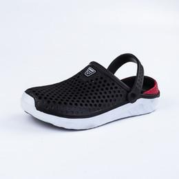 Cheap Wholesale Flat Shoes Australia - 2019 New Men Sandals Summer Flip Flops Slippers Men Outdoor Beach Casual Shoes Cheap Male Sandals Water Shoes unisex 36-45