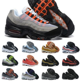 save off 7b6dc 21937 2019 Nike Air Max 95 Shoes New Airmax 95 OG X 20-jähriges Jubiläum Männer  Laufen Sportschuhe Günstige Air Cushion 95 s Schwarz Sohle Grau Mens  Trainer ...