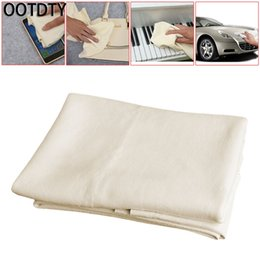 chamois cars 2019 - OOTDTY Natural Shammy Chamois Leather Car Cleaning Clean Towels Drying Washing Cloth #1 cheap chamois cars