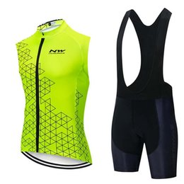 Wholesale Nw Team Cycling Short Sleeves Jersey Bib Shorts Sets Clothing Breathable Outdoor Mountain Bike Free Delivery U41506