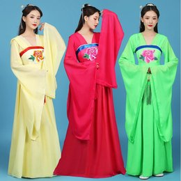 oriental chinese dress Australia - New Oriental Dance dress Women Chinese ancient costume Performance stage wear classical opera dancing tang suit Hanfu