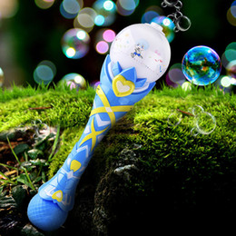 $enCountryForm.capitalKeyWord NZ - Bubbles 360 No Spill Flashing Trophy Bubble Guns Toys For Children 2018 Summer Magic Wand Bubble Blower Machine Russia Outdoor Toy