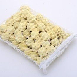Vente en gros 500g Fish Tank Aquarium Filter Media Nitrifying Bactéries Nettoyage De L'eau Boule Biochimique Avec Sac En Maille 5 8sx Ww