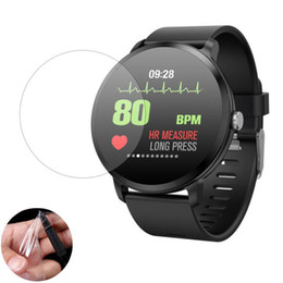 Smart Watch Screen Protectors Australia - 3pcs Soft Ultra Clear Protective Film Guard Protection For V11 Smart Watch Smartwatch Display Screen Protector Cover (Not Glass)