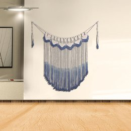 Decorative Wall Curtains Australia - Handmade Curtain Tapestry Bohemian Style Decorative Pendant Background Wall Decoration